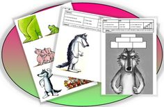 Qui est le plus fort ? Grande Section, Petite Section, Wolf Illustration, Teaching French, Activities For Kids, Kindergarten, Projects To Try, Education, Reading