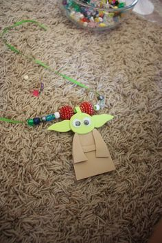 Yoda necklace.