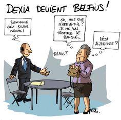 Dexia devient Belfius... vous en pensez quoi de ce changement de nom ? http://www.humeurs.be