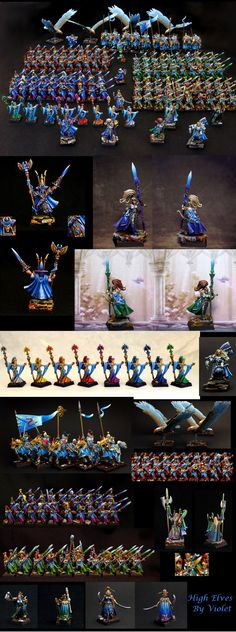 High Elves Army. Blix says: Wow! Wow! and Wow!