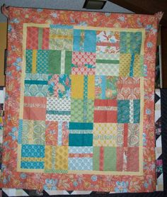 prayer flag fabric in the Piece O'Cake pattern