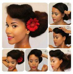 14 Best Vintage Afro Hair Images Natural Hair Styles Hair Hair