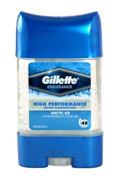 Gillette endurance antiperspirant clear gel 70ml arctic ice