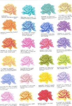 Paper and Ribbons: 3 Step Stamping Colour Combinations The Sweet Life...