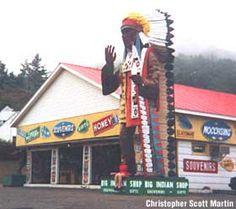 Big Indian Gift Shop.