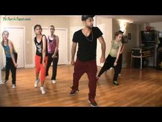 Hip Hop Dance Tutorial - Hip Hop Combo Lesson Part 1