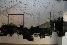 """""""Migration"""" By Matthieu Redon / Exposition à découvrir à Tulavu le Cube à Marseille"""