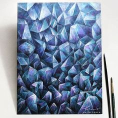 WEBSTA @ crystal.tribe - Crystallized canvas ✨ gorgeous work of art reposted via @chloeoshea