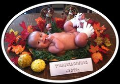 Baby's 1st Thanksgiving! This is just wrong!
