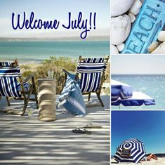 Welcome July, Summer Themes, Rainbow Sherbet, Summer Months, Collages, House Styles, Collage