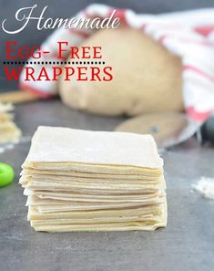 How To Make Homemade Spring Roll Wrappers, easy way to make homemade spring roll sheets,Eggless wonton wrappers, egg free wonton wrappers, Wonton wrappers Spring Roll Wraps, Veg Spring Rolls, Homemade Spring Rolls, Egg Roll Wraps, Chicken Spring Rolls, Chinese Appetizers, Vegan Appetizers, Italian Appetizers, Chinese Desserts