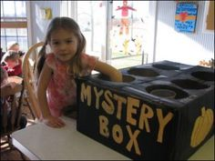 mystery box halloween games idea | Get Party Ideas