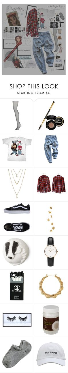 """""""回 - i took a vow that from now on, i'm gon' my own best friend."""" by suspunzel ❤ liked on Polyvore featuring Topshop, Too Faced Cosmetics, LOONEY TUNES, Levi's, Aéropostale, Vans, Livingly, Daniel Wellington, Huda Beauty and Kate Spade"""