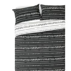 Buy HOME Sticks Black and White Bedding Set - Double at Argos.co.uk, visit Argos.co.uk to shop online for Duvet cover sets