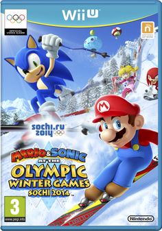 Nintendo Wii U - Mario & Sonic at the Olympic Winter Games Sochi 2014 Olympic Games Online, Winter Olympic Games, Winter Games, Winter Olympics, Nintendo 2ds, Nintendo Wii U Games, Wii Games, Nintendo Party, Gamecube Games