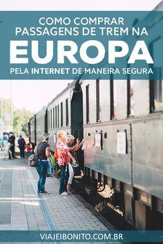 Como comprar passagens de trem na Europa pela internet estando no Brasil