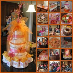 Image detail for -... help her throw an autumn baby shower with a theme of pink