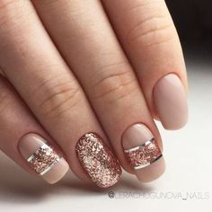 35 Outstanding Classy Nails Ideas For Your Ravishing Look - Nail Accessories - Nageldesign Classy Nails, Stylish Nails, Cute Nails, Pretty Nails, My Nails, Gorgeous Nails, Sophisticated Nails, Stylish Jewelry, Gold Nail Designs