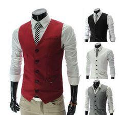 Grey vest- groom wedding style