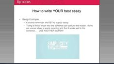 Learn How to Write a Successful Personal Essay When Applying to U.S. Universities