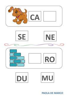 Indovina la sillaba giusta worksheet Italian Language, School Subjects, Preschool Worksheets, Your Teacher, Google Classroom, Colorful Backgrounds, Student, Flashcard, Special Education