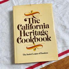 Just listed in Etsy! The #CaliforniaHeritageCookbook by the #juniorleagueofpasadena 1976 hcdj.