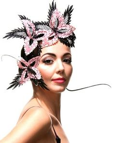 Racing Fashion: Brett Morley Millinery, Distinguished, opulent and classic.