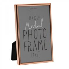Lucera copper photo frame 4x6 - Photo Frames - Home & Kitchen - Gifts & Home