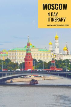 Travelling to Moscow soon or just curious about what this city has to offer? Then, you can't miss this 4 day itinerary with all must-see attractions in the Russian capital!