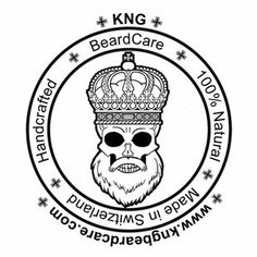 KNG BeardCare the beardbrand of Switerland Personalized Items, Designer Stubble, Face Hair, Shaving
