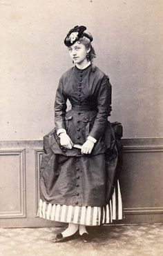 winter day dress 1860's | Sweet Sewing Chronicles