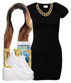"""."" by trillest-queen ❤ liked on Polyvore featuring VILA"