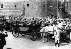 King George Vi Funeral | Her Majesty Queen Elizabeth The Queen Mother, 1900-2002. Her Life and ...