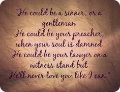 he could never love you like me lyrics