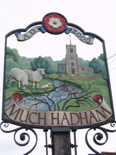 Much Hadham village, East Hertfordshire, England, UK