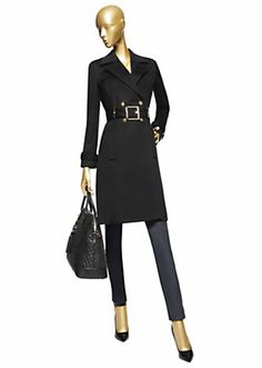 Versace - Wool Cashmere trench coat