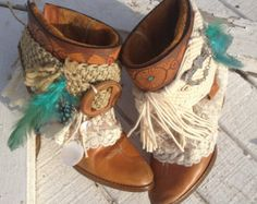 Popular items for boho boots on Etsy
