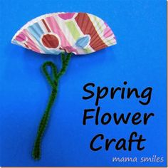 Titina's Art Room | 14 easy & fun flower craft ideas for kids