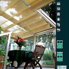 ΣΥΣΤΗΜΑ ΓΙΑ ΚΟΥΡΤΙΝΕΣ ΟΡΟΦΗΣ (SKYLIGHT) Outdoor Decor, Home Decor, Decoration Home, Room Decor, Interior Design, Home Interiors, Interior Decorating