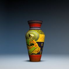Shogunal Sake Flask