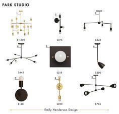 Park Studio Emily Henderson Design Lighting Roundup