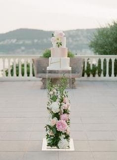 Lovers of All Things Pink & Floral Need to See This Stunning Villa Wedding in France!
