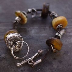amber and silver - cobalt blue jewelry ewa lompe author.