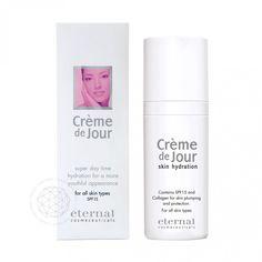 CremeDeJour bietet mit Argireline® einen botoxähnlichen Wirkstoff und ist eine tiefenwirksame Tagespflege, die darauf abgestimmt ist, vor allem Mimikfalten, zu mindern und langfristig vorzubeugen.