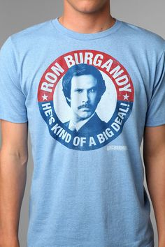 Can I vote for Ron Burgandy?
