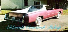 1975 Cadillac Eldorado Comstock pick up conversion. Finished in Cerise Firemist.