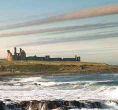 Landscape view of Dunstanburgh Castle Dunstanburgh Castle, Durham City, Great North, North East England, Northern England, English Heritage, Heaven On Earth, British Isles, Monument Valley