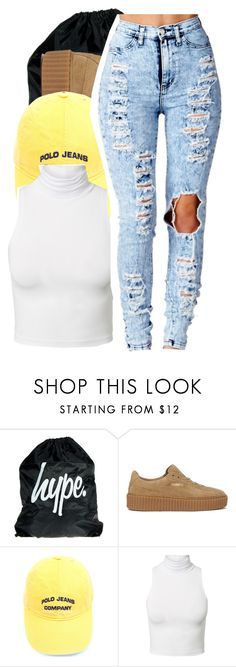 """""""Untitled #843"""" by shilohluvsu ❤ liked on Polyvore featuring Puma and Estradeur"""