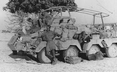 A Afrika Korps SdKfz 232 8 rad armored car Mg 34, Armored Vehicles, Armored Car, Moab Jeep, Afrika Corps, North African Campaign, Ww2 Photos, Military Photos, Military History