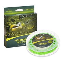 FishingSir Weight Forward Floating Fly Fishing Line 100ft -WF3F 4F 5F 6F 7F 8F